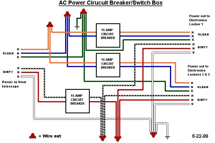 ac wiring for esi spectrograph electronics manual rh ucolick org ac wiring color code ac wiring explained